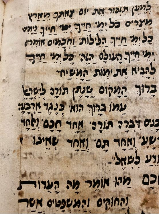 Jewish holy scripture