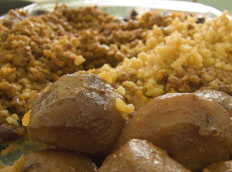 Jewish stew casserole