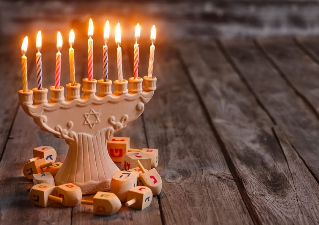 Menorah for Chanukah