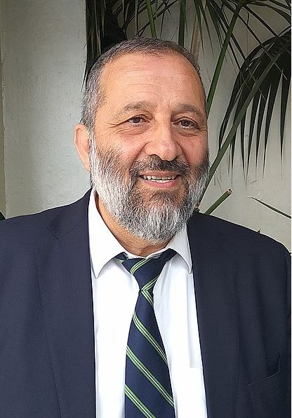Arye Deri - Shas party leader - Israel elections