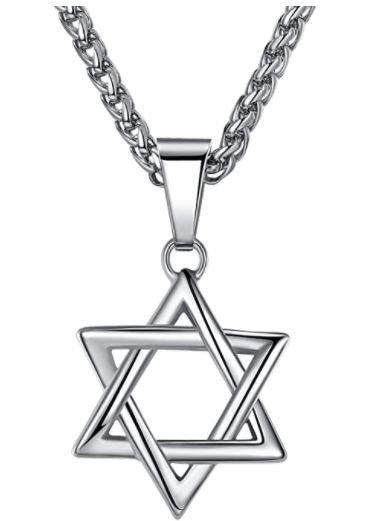 Judaica - Star of David necklace