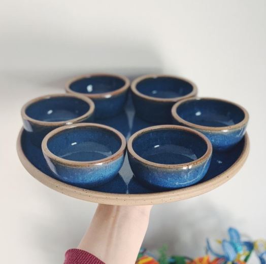 Judaica item - Passover Seder plate