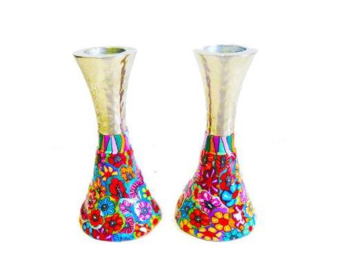 Pair Of Shabbat Candlesticks