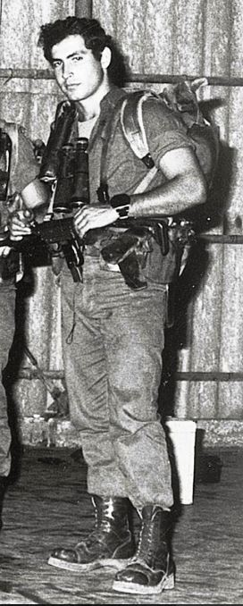 history of israel nation - Benjamin Netanyahu as a young soldier