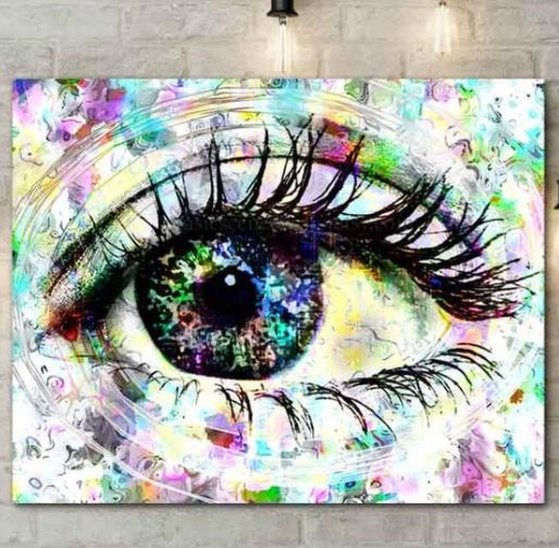 Evil eye artwork