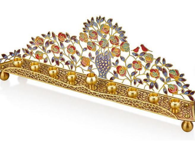 Gifts for Jewish holidy menorah