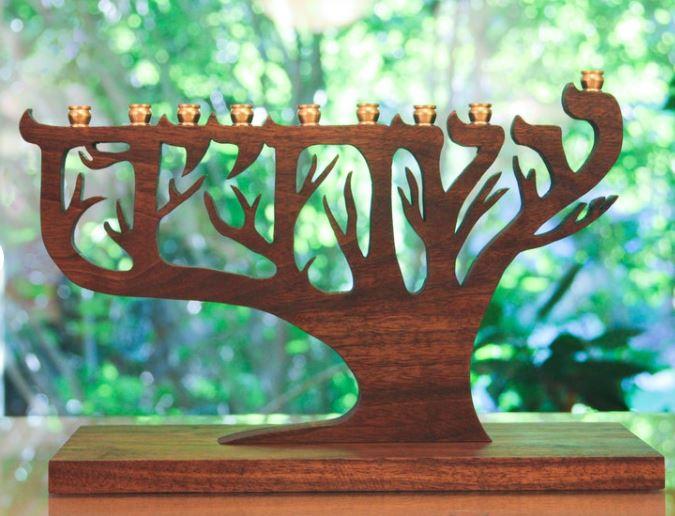 Jewish wedding gifts Chanukiyah