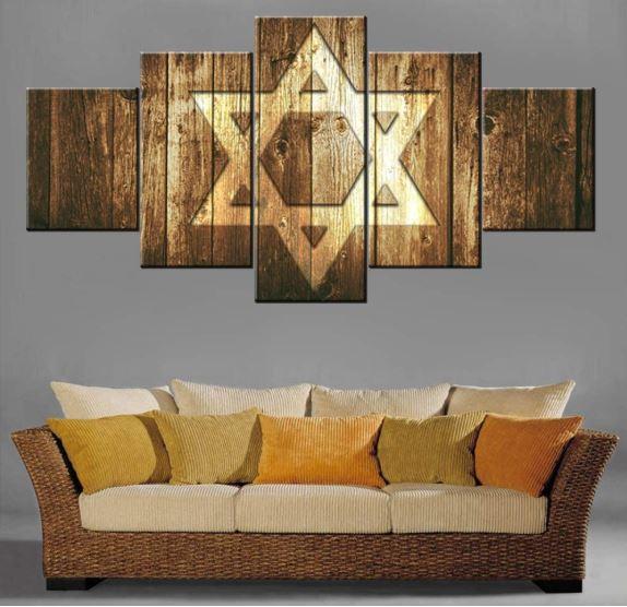 Star of David home decor