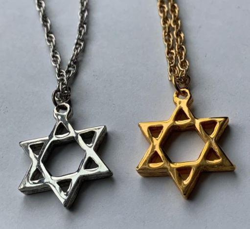 Star of David pendant UK