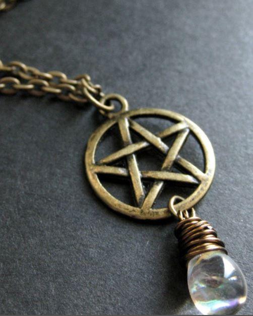 Star of david and pentagram