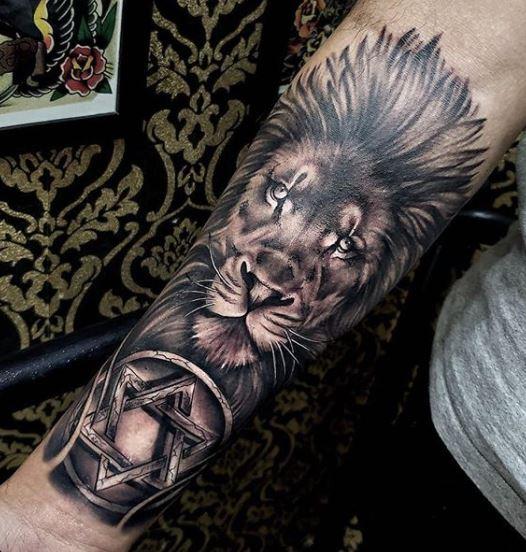 3d star of david tattoo