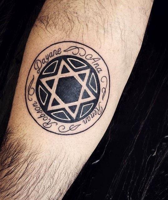 cool star of david tattoos