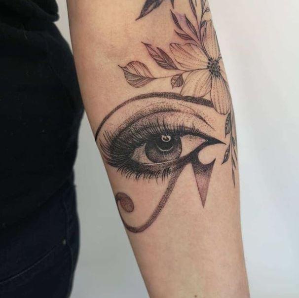 Turkish evil eye tattoo designs