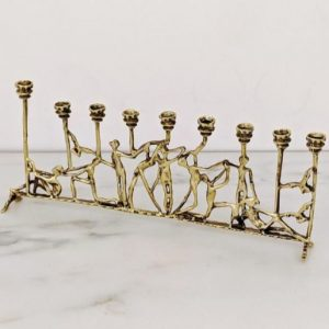 Etsy brass menorah