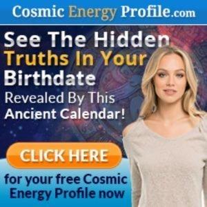 Cosmic energy profile