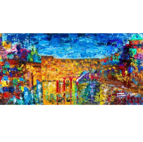 Jewish Art - THE JERUSALEM SKYLINE