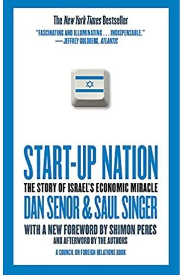 """Start-Up Nation addresses the trillion dollar question: How is it that Israel -- a country of 7.1 million, only 60 years old, surrounded by enemies, in a constant state of war since its founding, with no natural resources-- produces more start-up companies than large, peaceful, and stable nations like Japan, China, India, Korea, Canada and the UK? With the savvy of foreign policy insiders, Senor and Singer examine the lessons of the country's adversity-driven culture, which flattens hierarchy and elevates informality-- all backed up by government policies focused on innovation. In a world where economies as diverse as Ireland, Singapore and Dubai have tried to re-create the """"Israel effect"""", there are entrepreneurial lessons well worth noting. As America reboots its own economy and can-do spirit, there's never been a better time to look at this remarkable and resilient nation for some impressive, surprising clues."""