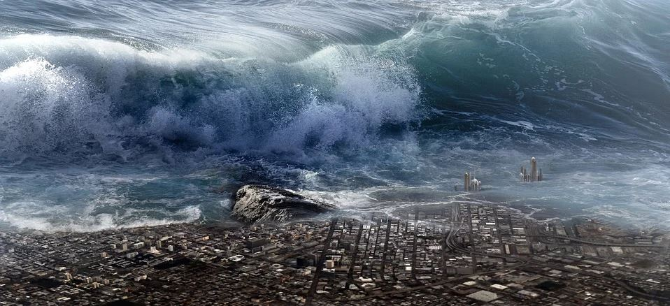 Dreams meaning of waves and tsunami