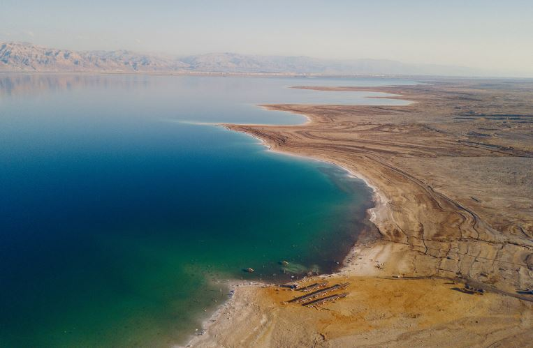 history about the dead sea