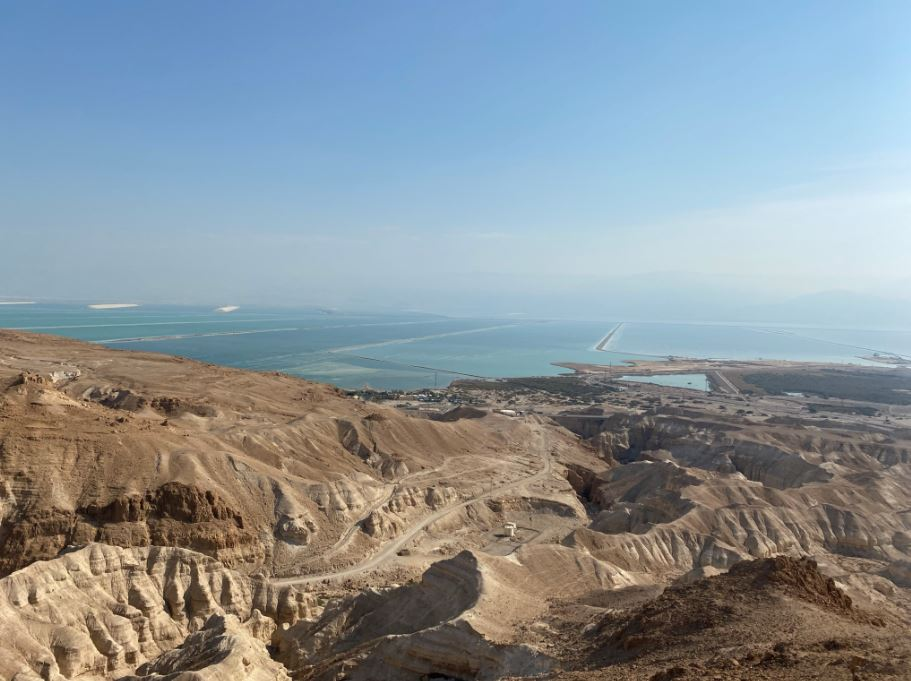 why is the water of the dead sea so salty