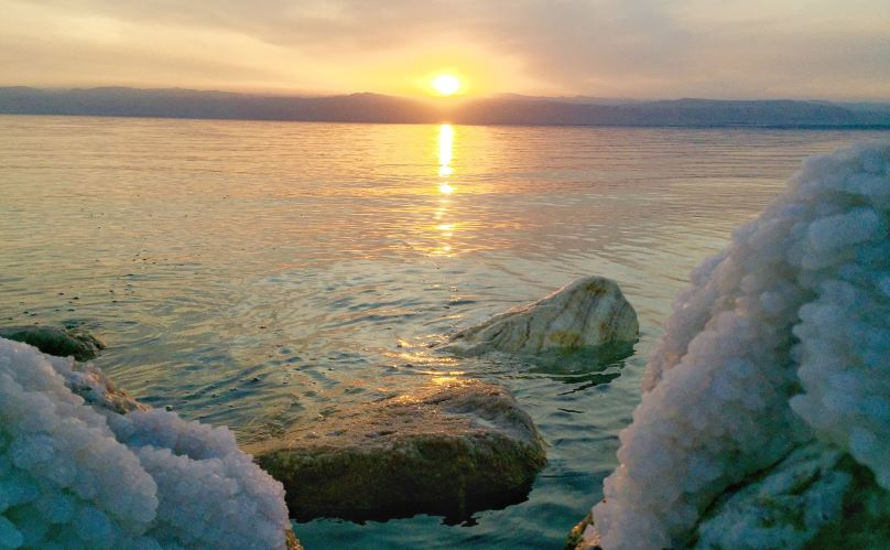 why was the dead sea so salty