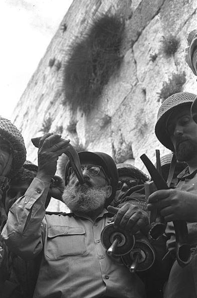 Six Days war - near the Western wall