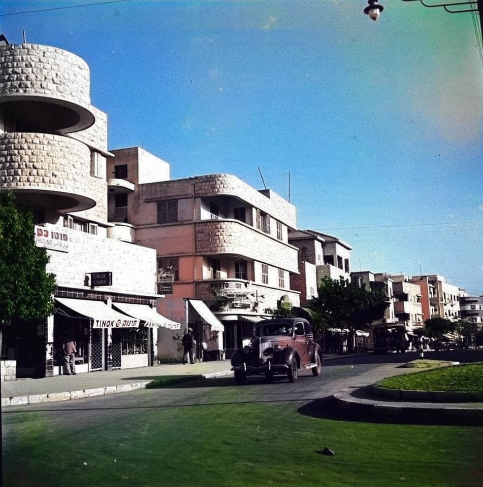 Israel color photos beginning of 20th century