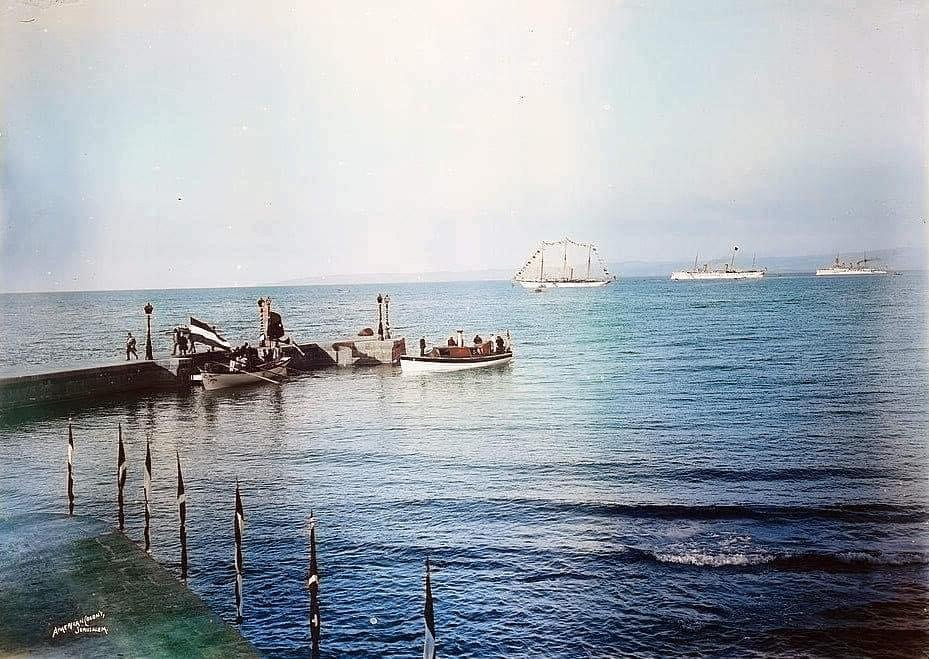 Old color photos of Israel