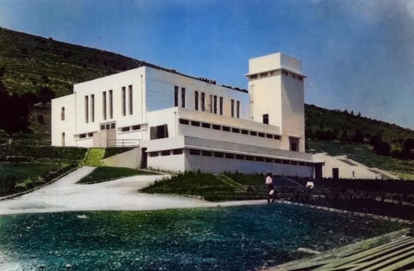 Old color photos of Haifa