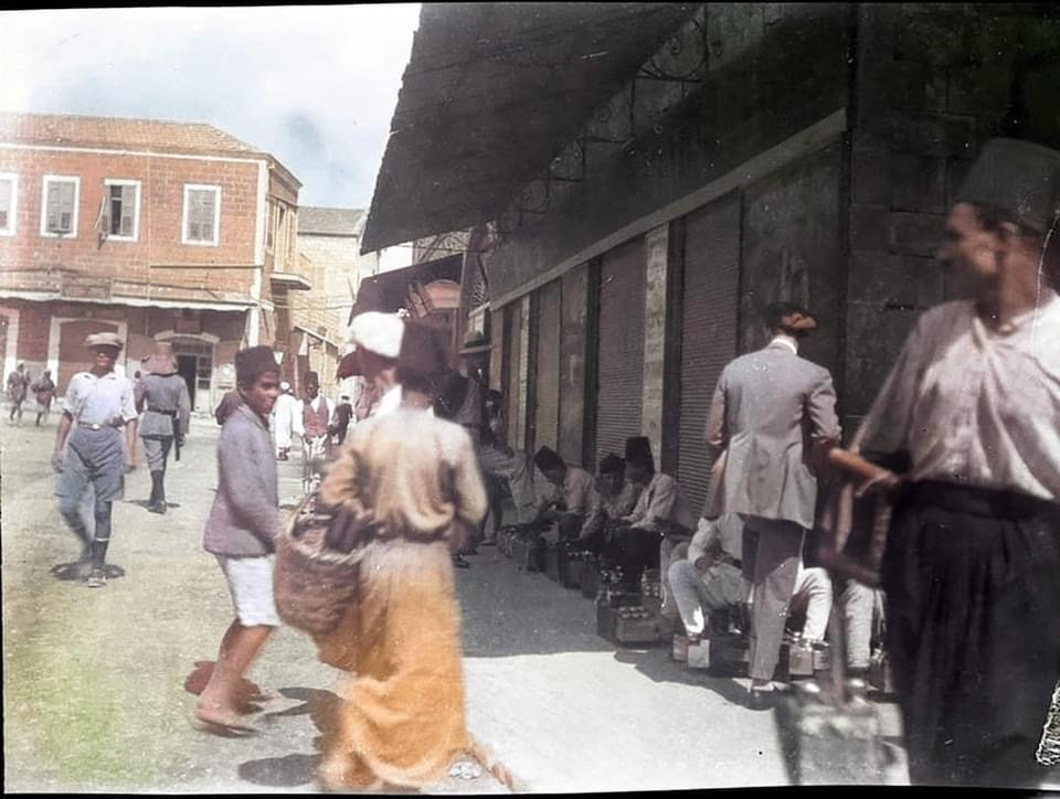 Israel color pics from the beginning of the twenty century