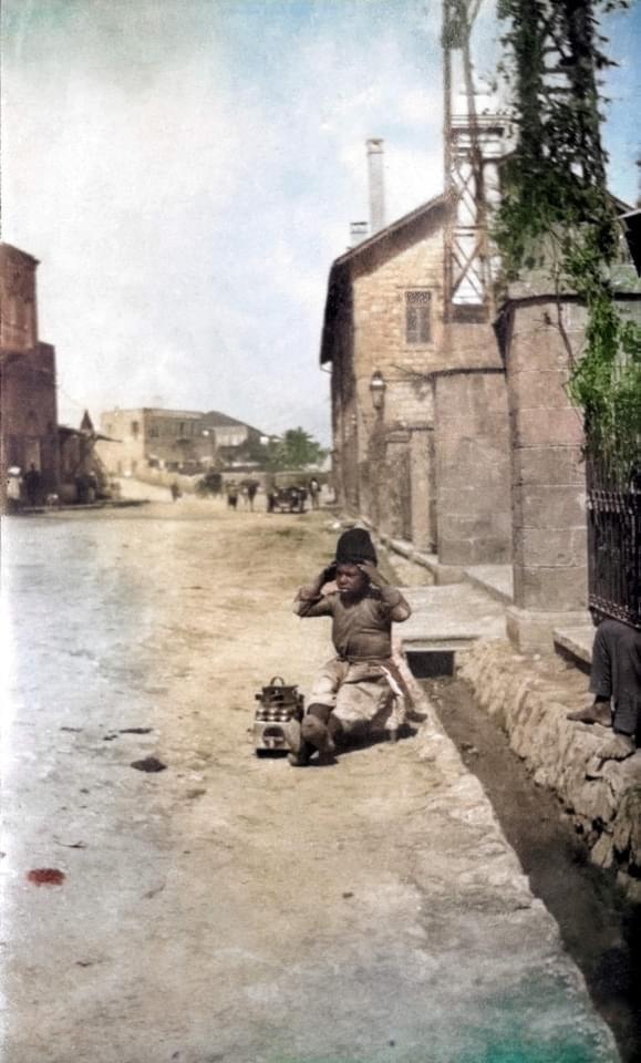 Israel old color pics