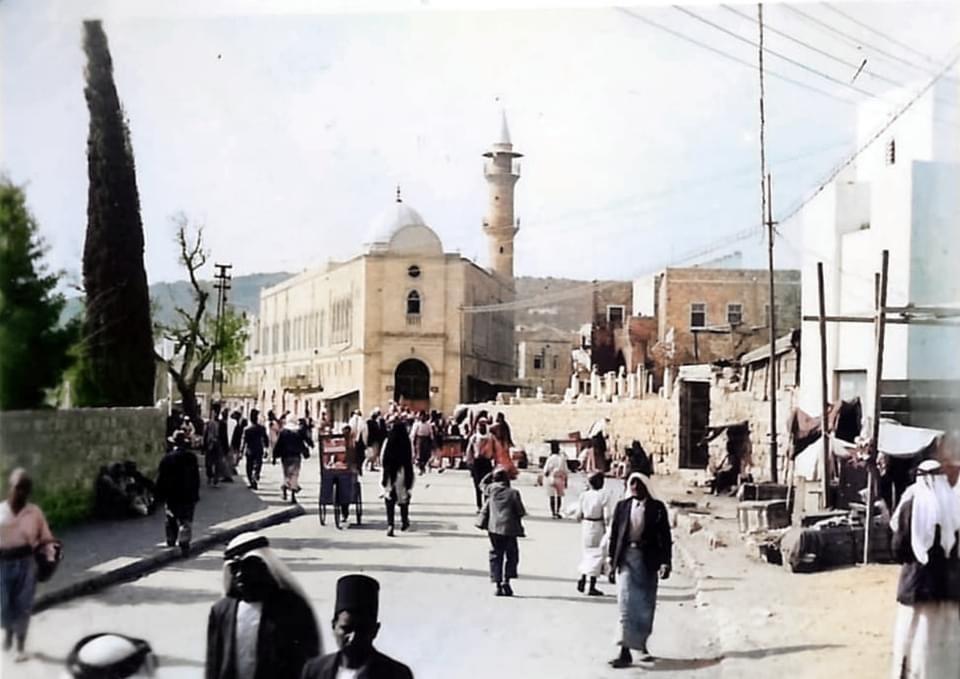 Haifa old color pics