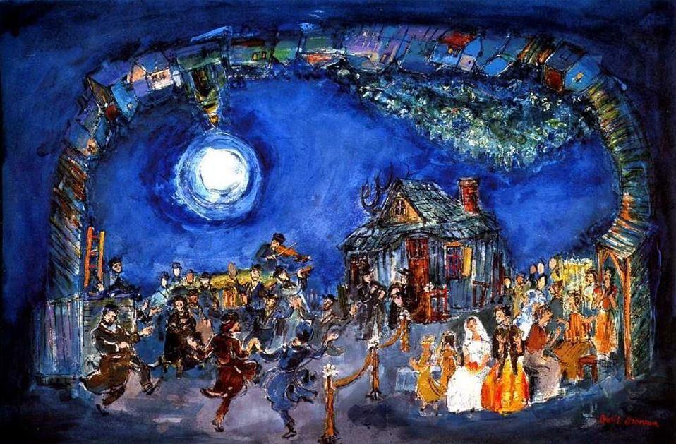 Boris Aronson - Fiddler on the roof