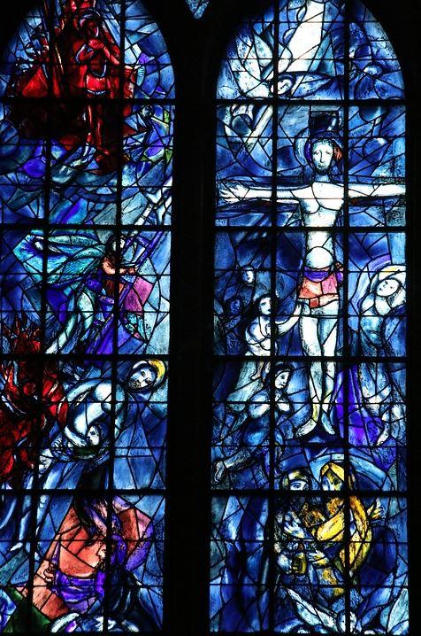 Marc Chagall mosaic window